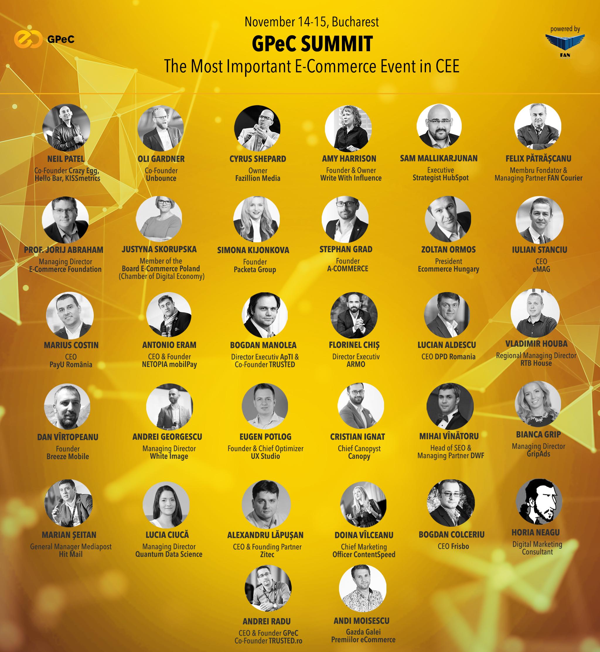 GPeC SUMMIT 14-15 Noiembrie Bucuresti