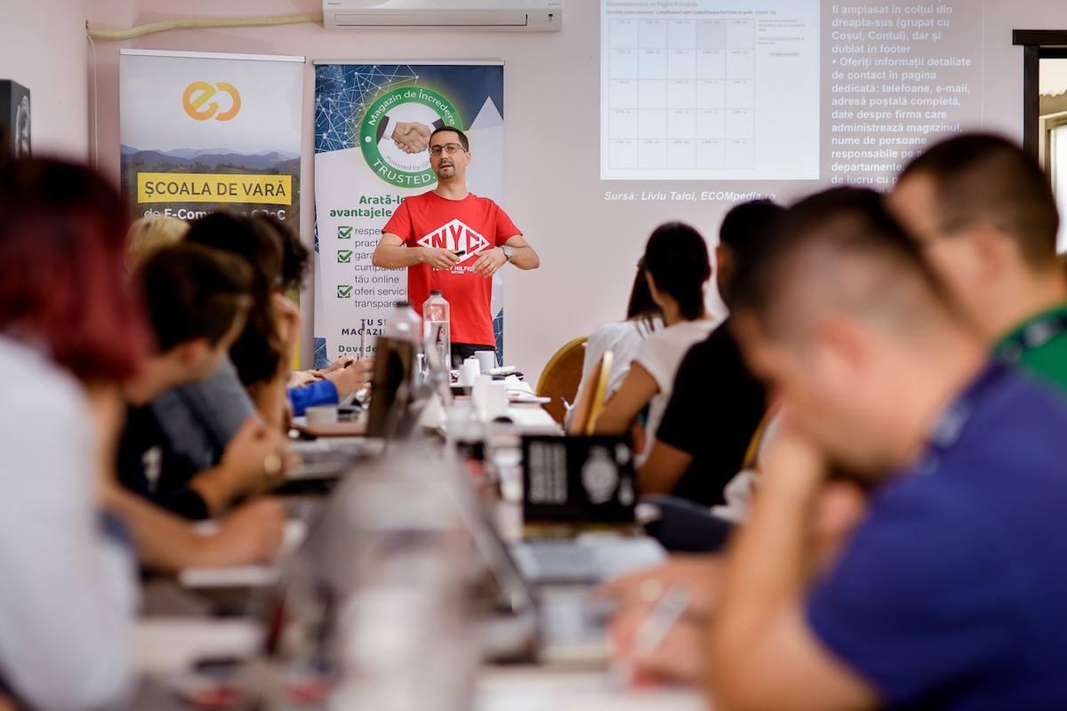 Andrei Radu workshop Școala de Vară GPeC 2018