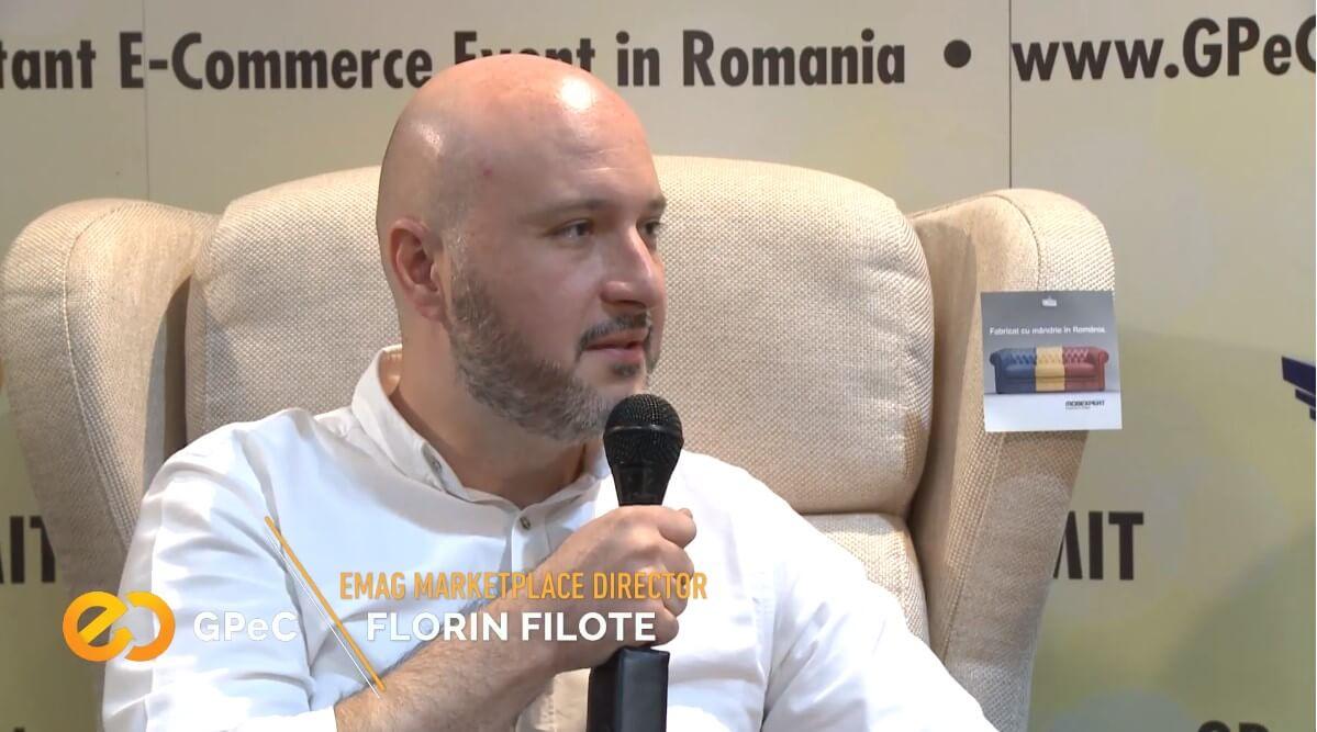 Florin Filote, eMAG Marketplace, interviu GPeC Summit Mai 2018