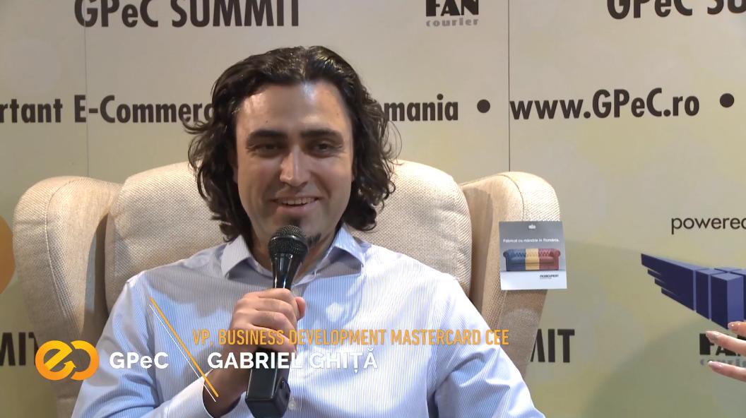 Gabriel Ghita MasterCard interviu GPeC Summit Mai 2018