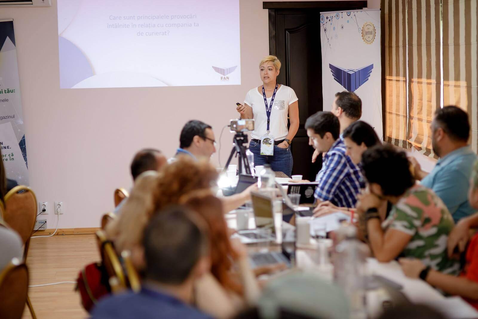 Roxana Magopeț, workshop la Școala de Vară GPeC 2018