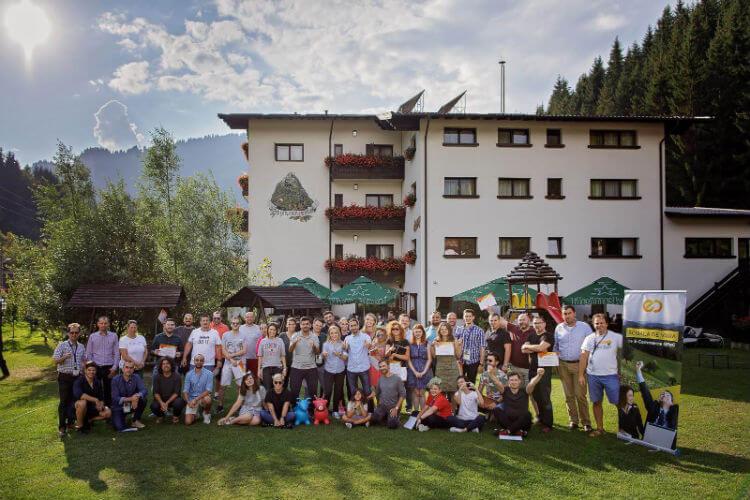 Școala de Vară GPeC 2018, poză de grup