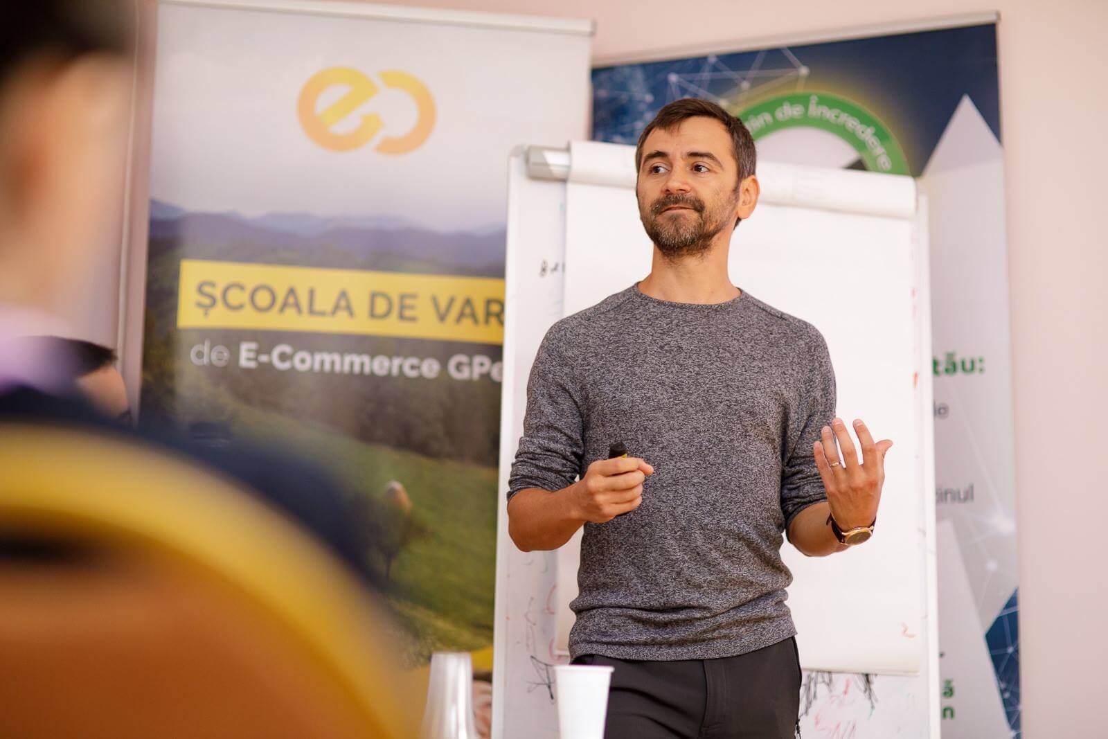 Valentin Radu, workshop la Școala de Vară GPeC 2018