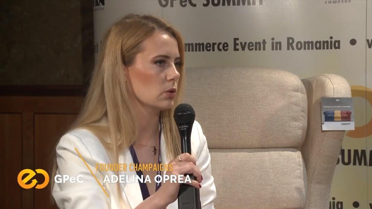 Adelina Oprea (Champaigns) interviu la GPeC Summit Mai 2018