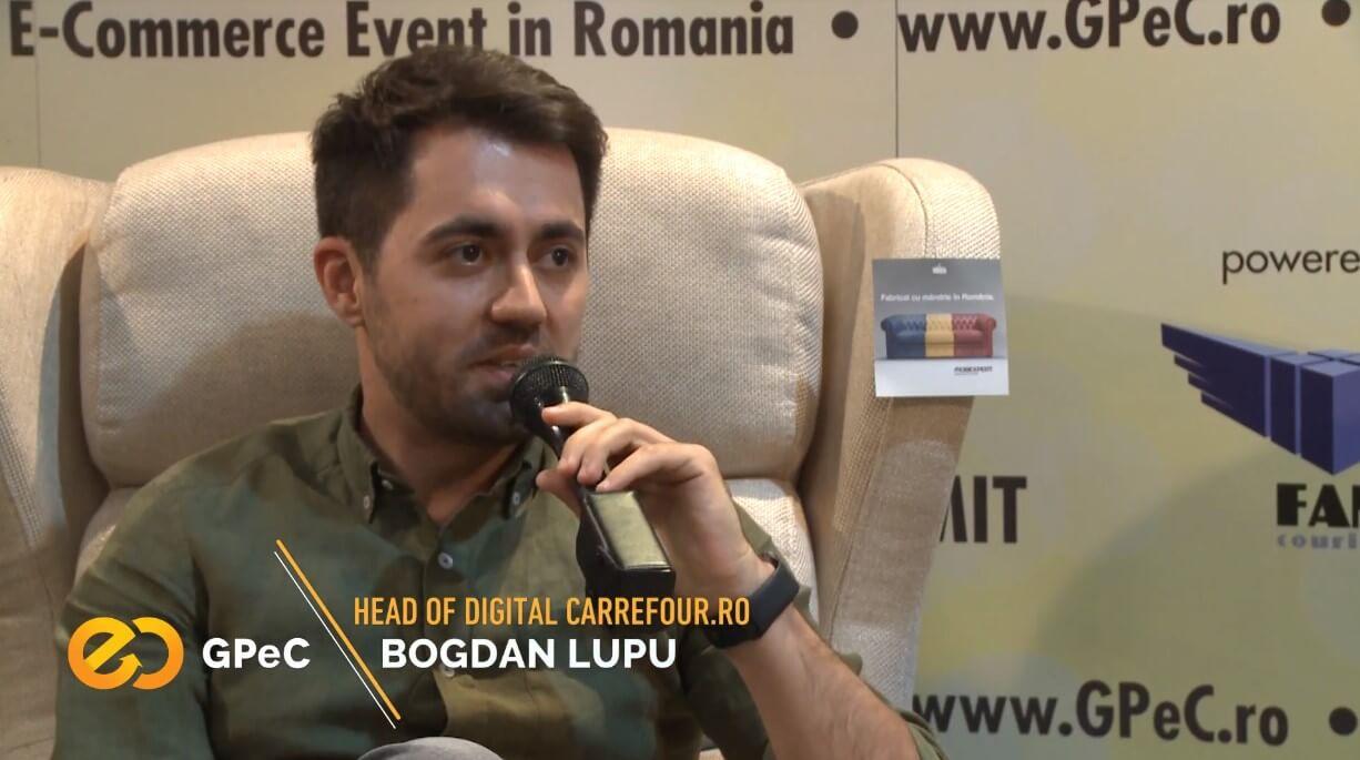 Bogdan Lupu (Carrefour.ro) interviu la GPeC Summit mai 2018