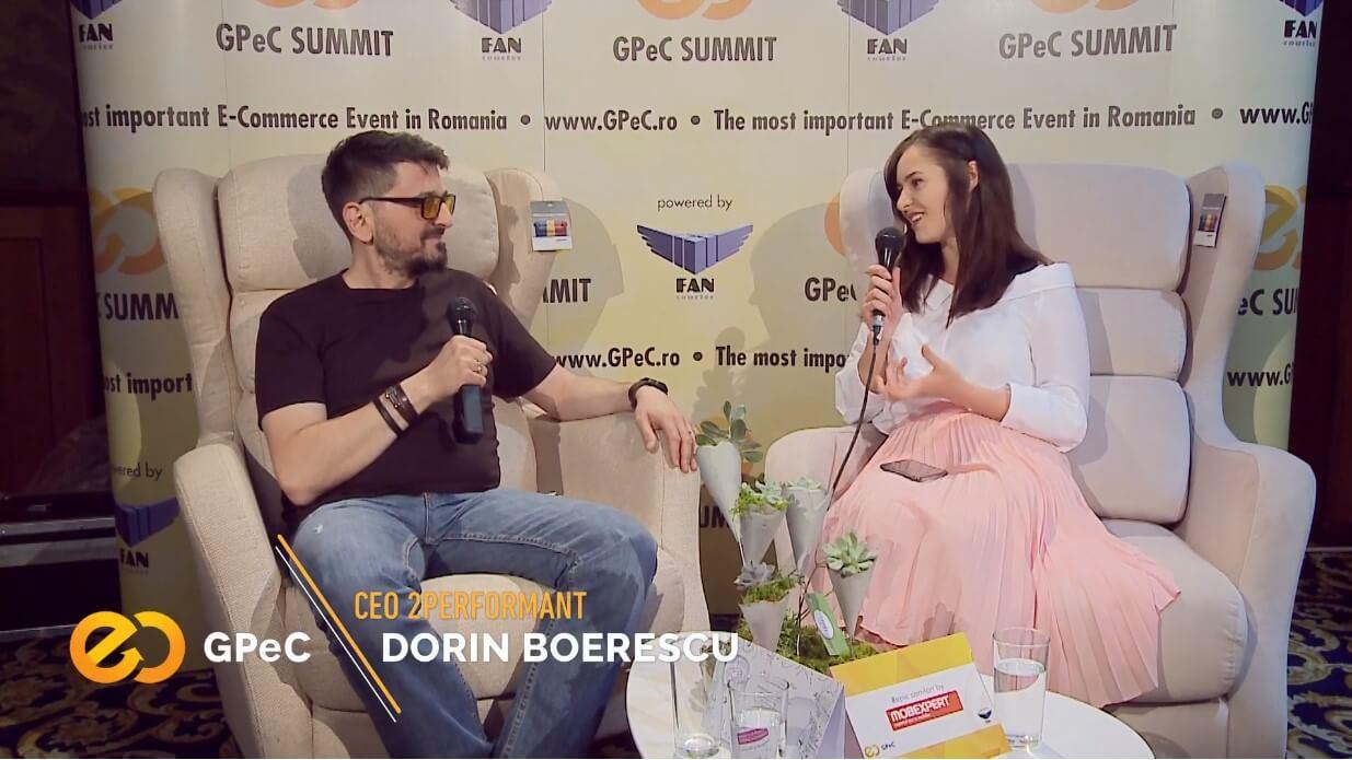 Dorin Boerescu (2Performant), interviu la GPeC Summit Mai 2018