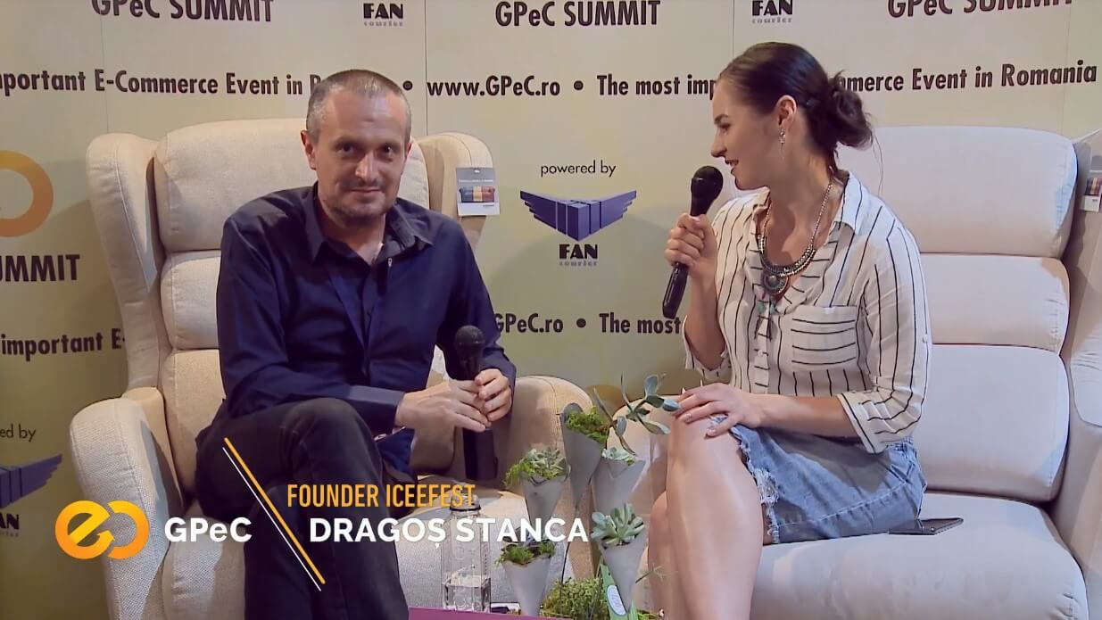 Dragoș Stanca, Founder iCEEfest, interviu la GPeC Summit mai 2018
