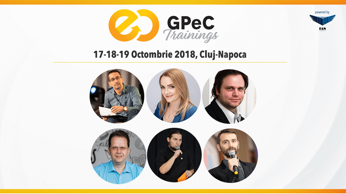 GPeC Trainings 17-18-19 octombrie 2018