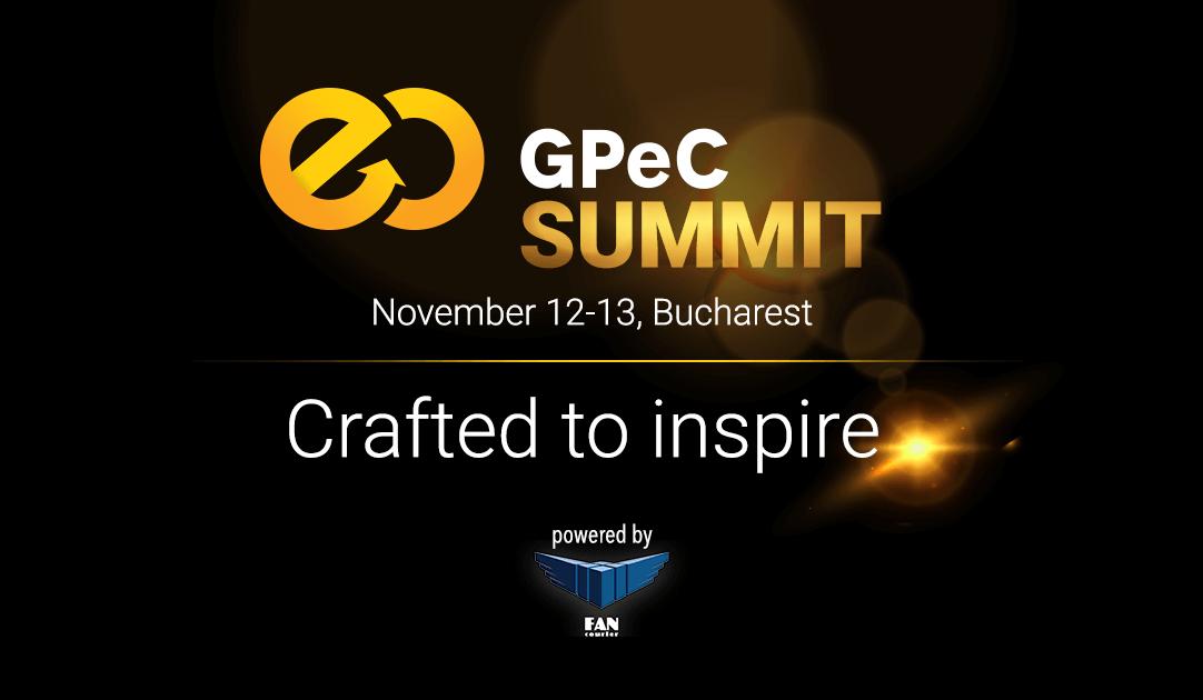 GPeC Summit, 12-13 Noiembrie, teasing
