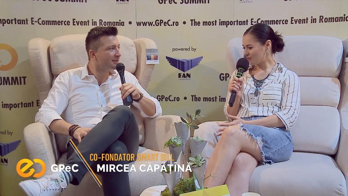 Mircea Căpățînă (Smart Bill), interviu la GPeC Summit Mai 2018
