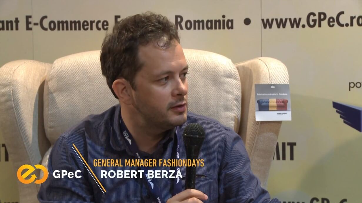 Robert Berza (Fashion Days), interviu la GPeC Summit Mai 2018