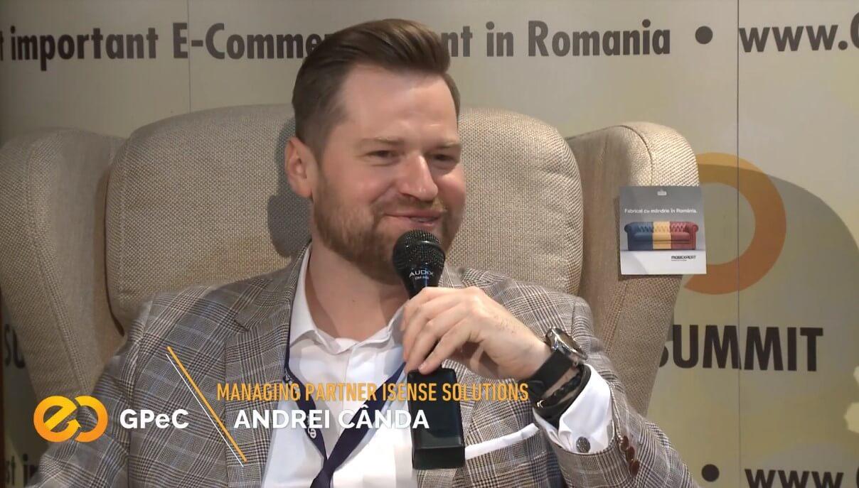 Andrei Cânda (iSense Solutions) interviu la GPeC Summit mai 2018