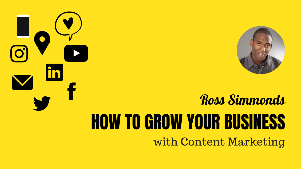 How to grow your business with Content Marketing - Ross Simmonds interview for GPeC SUMMIT