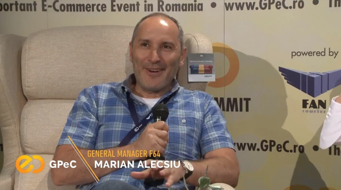 Marian Alecsiu F64 interviu GPeC SUMMIT mai 2018