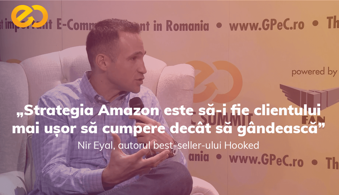 Nir Eyal, Hooked - Interviurile GPeC