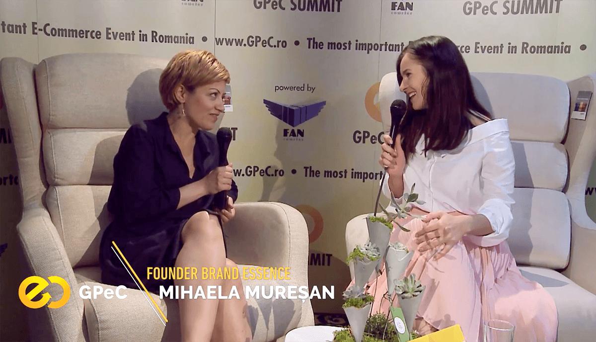 Interviu Mihaela Mureșan, GPeC Summit Mai 2018