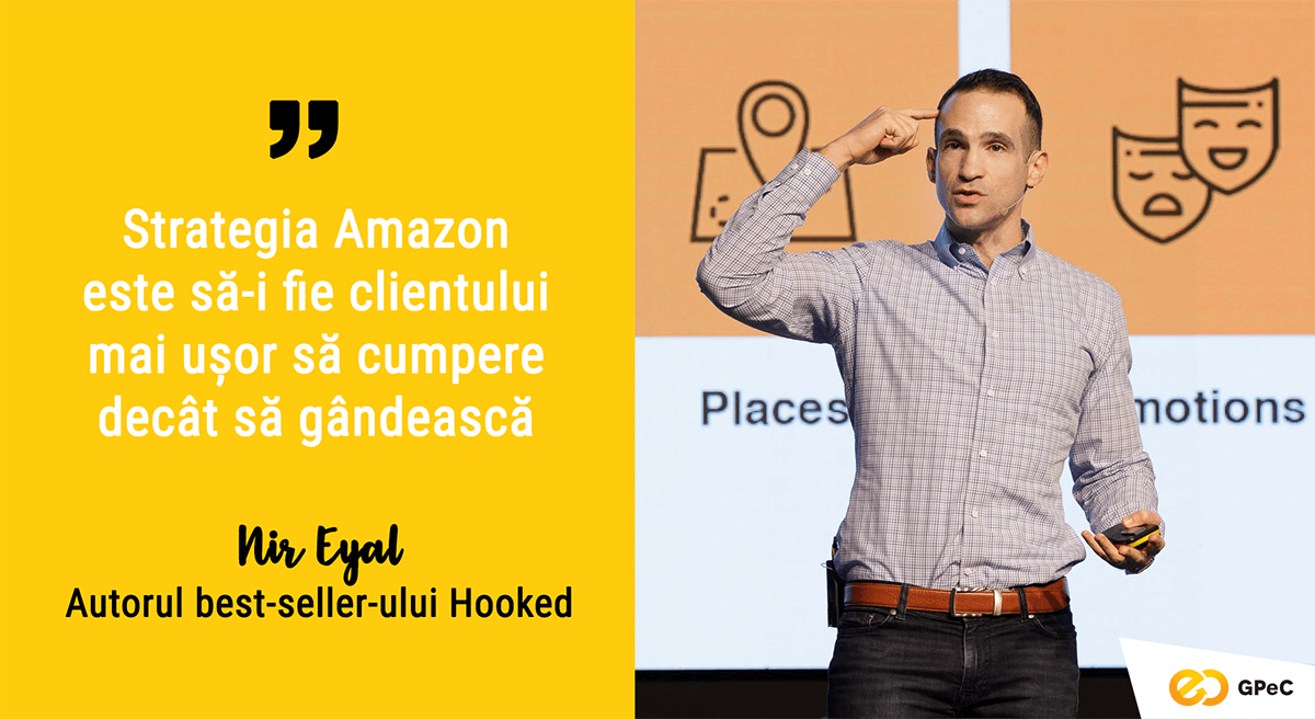 Nir Eyal, Hooked - Strategia Amazon