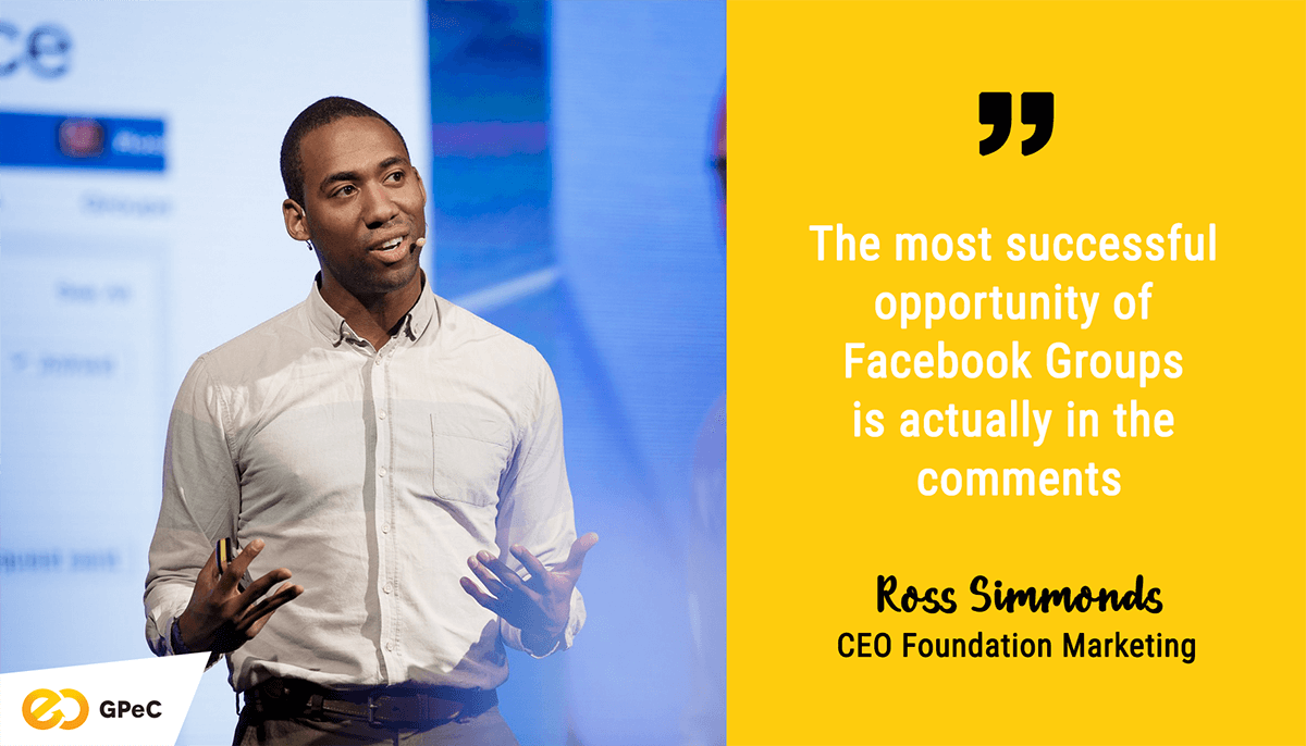 Ross Simmonds, Foundation Marketing: Facebook Groups content distribution