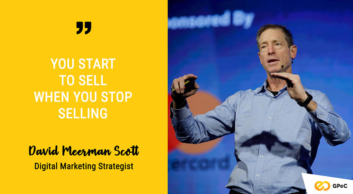David Meerman Scott - Real-time Marketing @ GPeC SUMMIT 2018