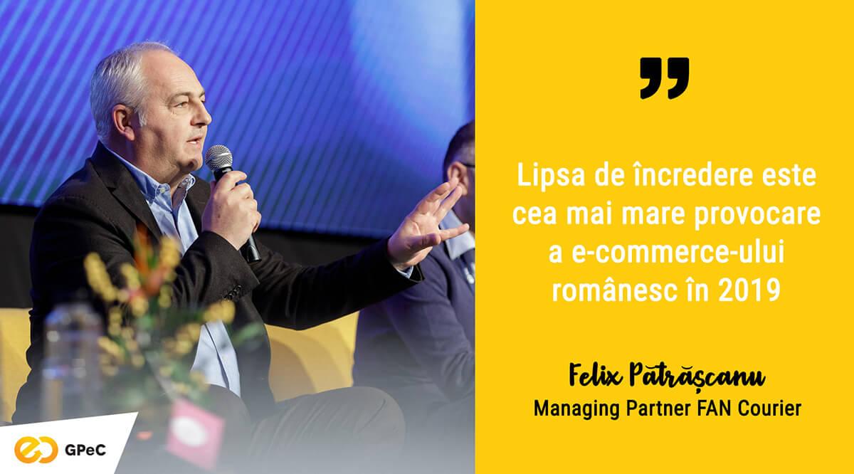 Felix Pătrășcanu (FAN Courier) - Piața de curierat din România 2019