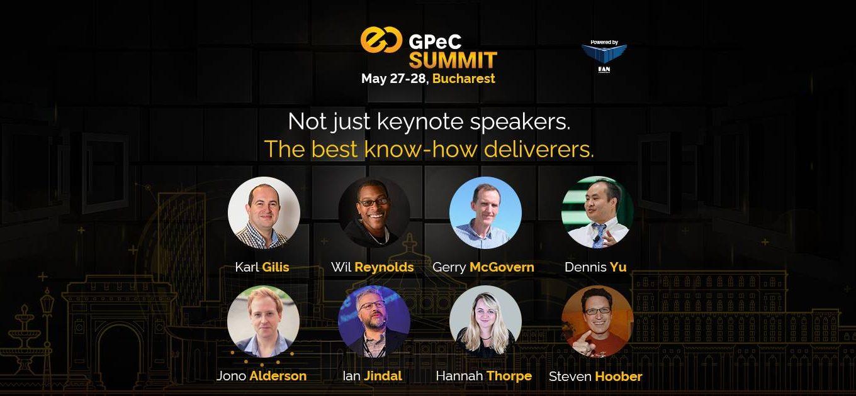 Speakeri GPeC E-Commerce SUMMIT 27-28 Mai Bucuresti, Romania