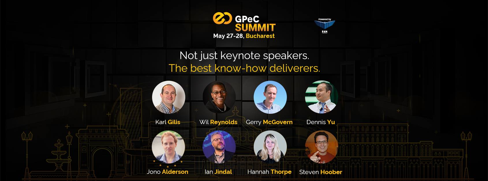 Speakeri GPeC E-Commerce SUMMIT 27-28 Mai Bucuresti, Romania