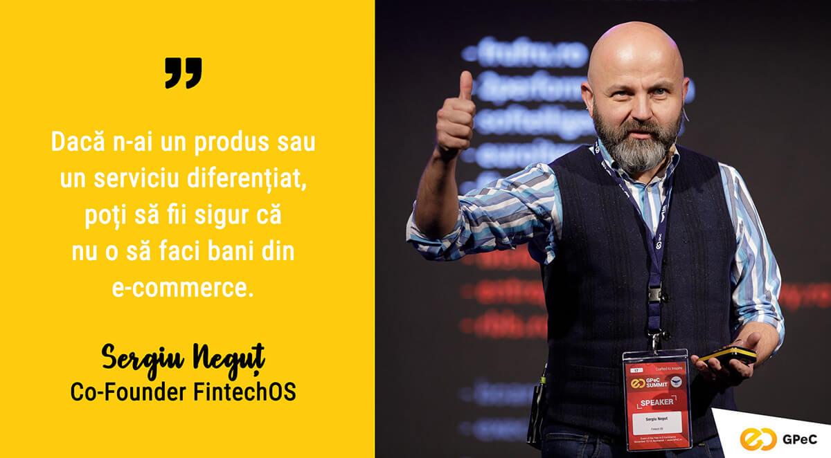 Sergiu Neguț, Business Angel: Cum faci bani in ecommerce