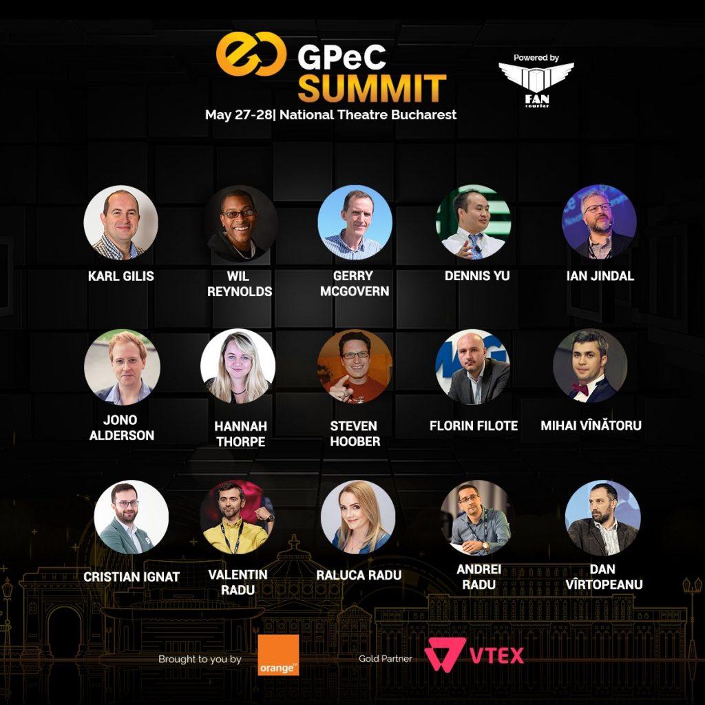 Speakeri E-Commerce si Marketing Online GPeC SUMMIT