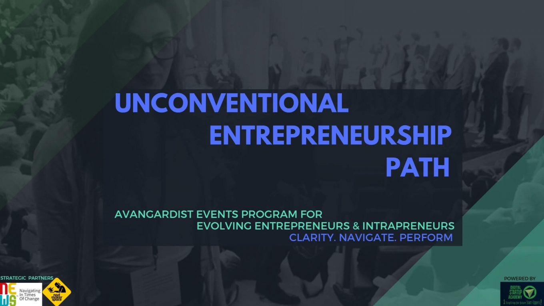 Unconventional Entrepreneurship Path 2019