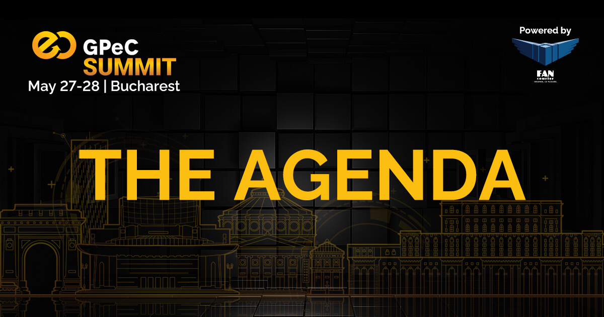 Agenda GPeC SUMMIT May 27-28, 2019