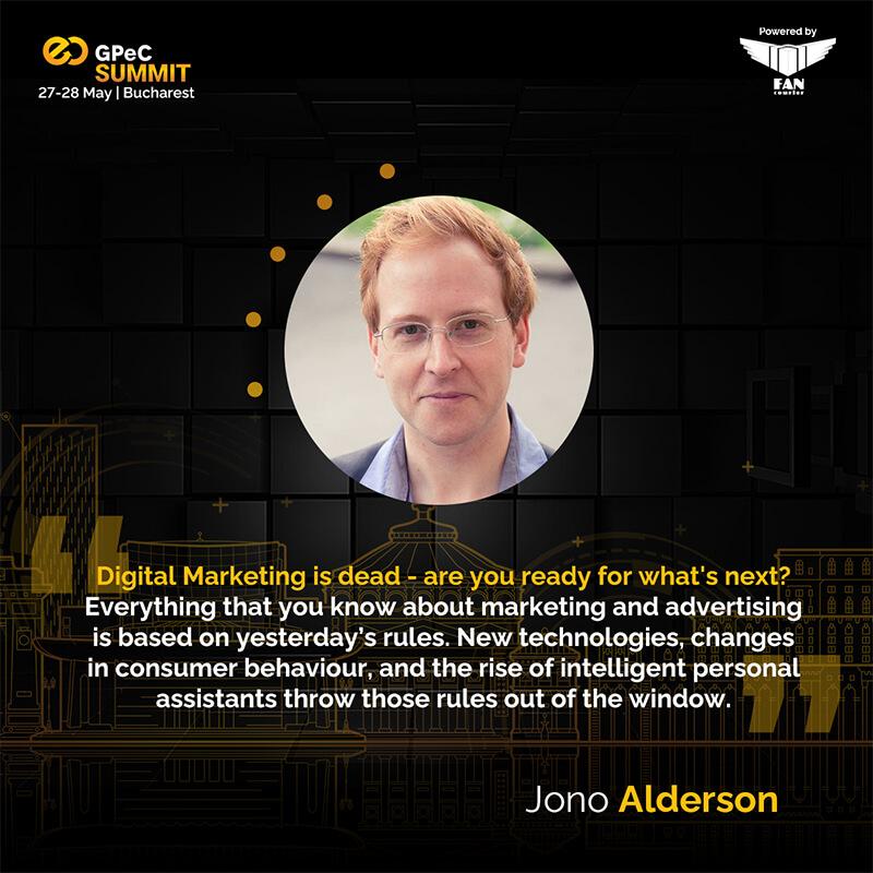 Jono Alderson - Digital Marketing is dead