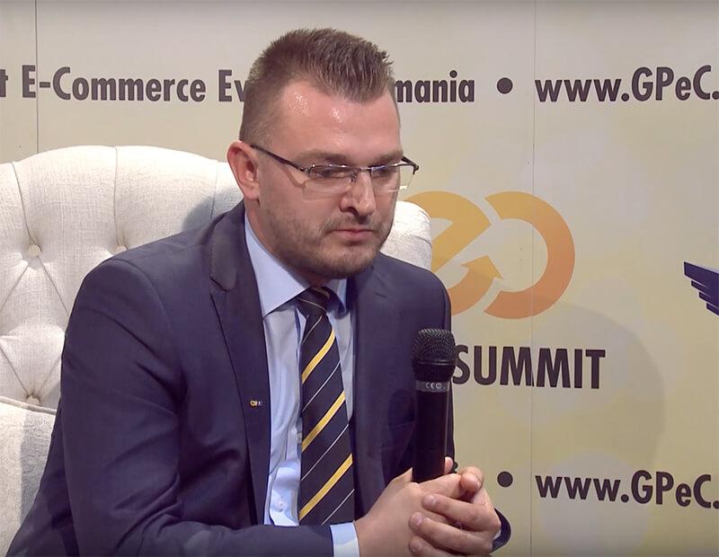 Lucian Jeder, GLS - Curieratul rapid în România