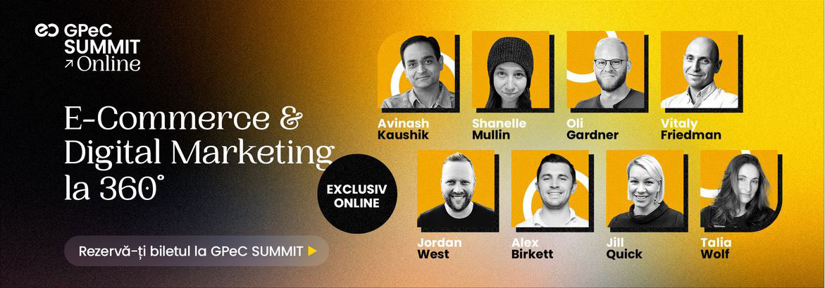 GPeC SUMMIT - Tot ce e important in E-Commerce si Digital Marketing