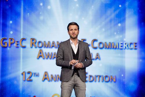 Andi Moisescu Host Gala Premiilor eCommerce