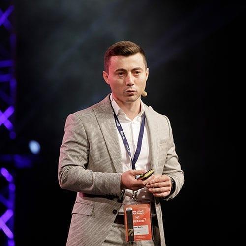 Cristi Movila VTEX speaker Scoala de E-Commerce si Digital Marketing GPeC